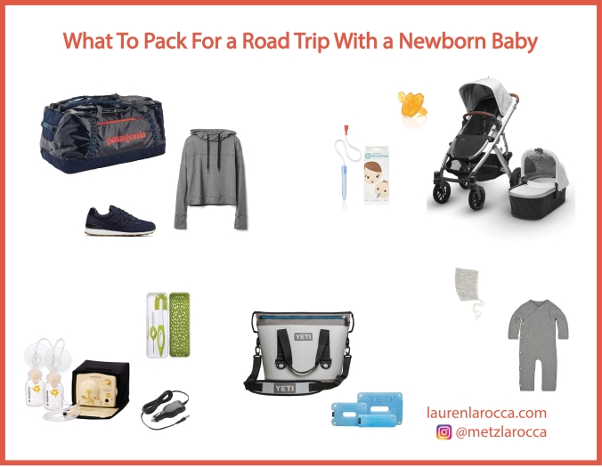 What To Pack For a Road Trip With a Newborn Baby